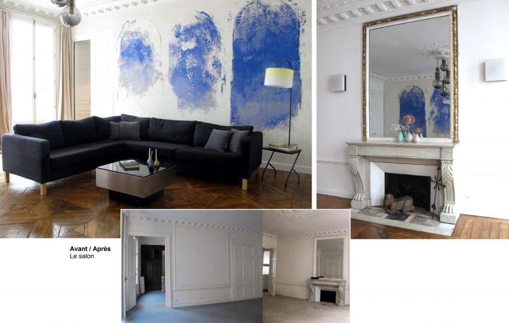 Avant - Après : un appartement parisien rénové - Joli Place