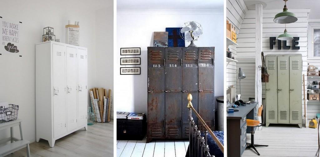 Exceptionnel Où trouver une armoire en métal - Joli Place LT62