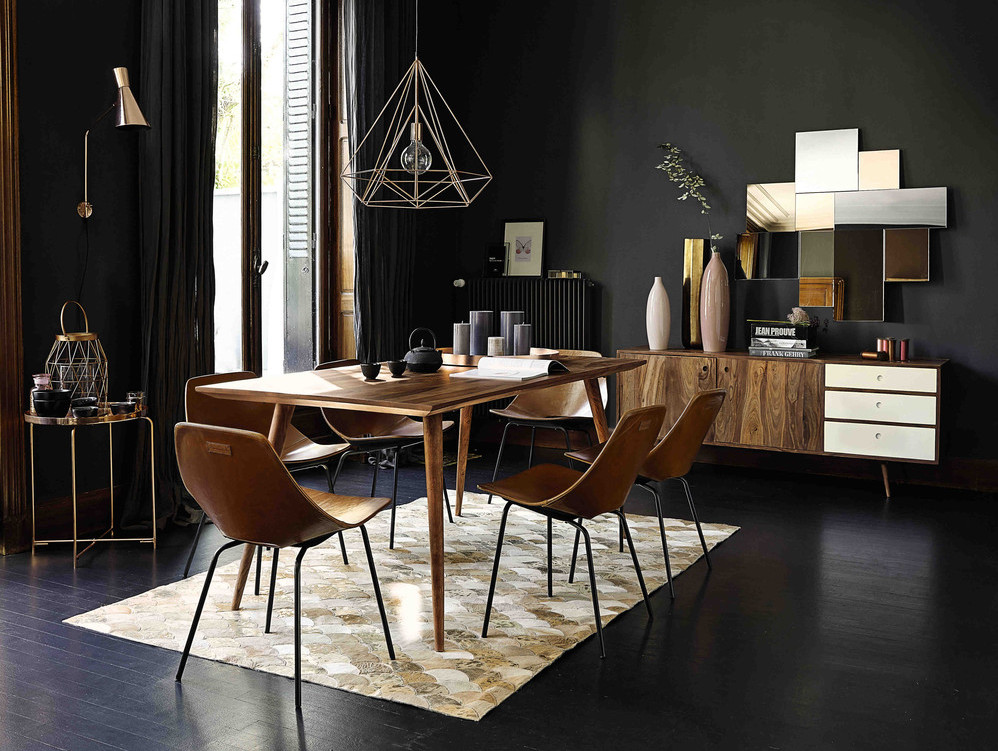la d co en noir black is the new black joli place. Black Bedroom Furniture Sets. Home Design Ideas