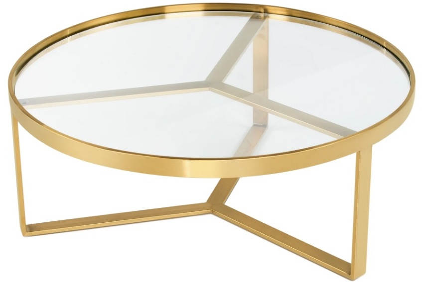 Table basse ronde verre simple circle table basse ronde - Fly table basse ronde ...