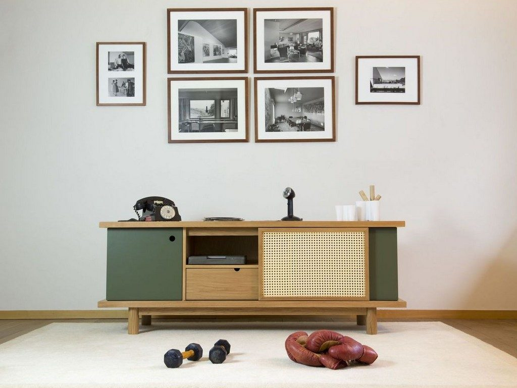 Des buffets color mix joli place - Enfilade design scandinave ...