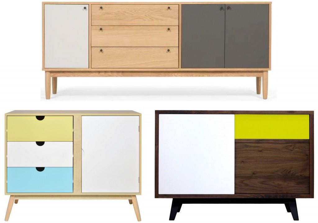un buffet color pour donner du peps la d co joli place. Black Bedroom Furniture Sets. Home Design Ideas