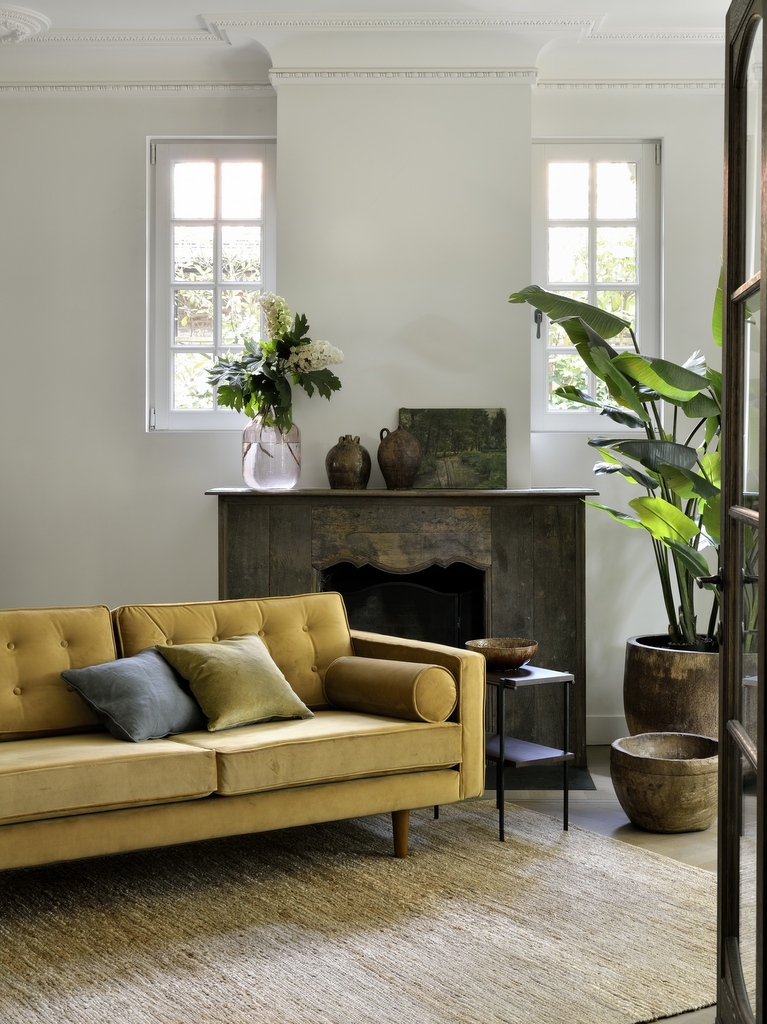 12 salons avec un canapé jaune - Joli Place