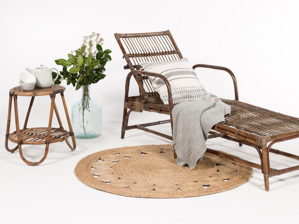 chaise longue marque nature