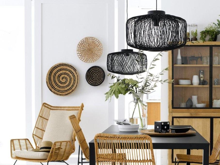 must have le panier mural rond d 39 inspiration ethnique. Black Bedroom Furniture Sets. Home Design Ideas