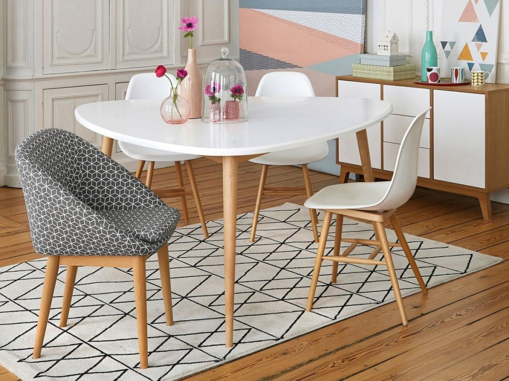 Awesome table salle a manger scandinave pictures amazing - Idee deco style scandinave ...