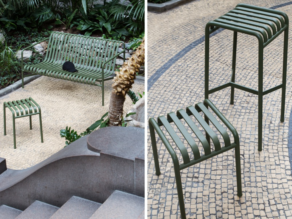 palissade le mobilier outdoor de hay joli place. Black Bedroom Furniture Sets. Home Design Ideas