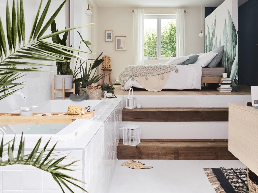 Une salle de bain dans la chambre - Joli Place