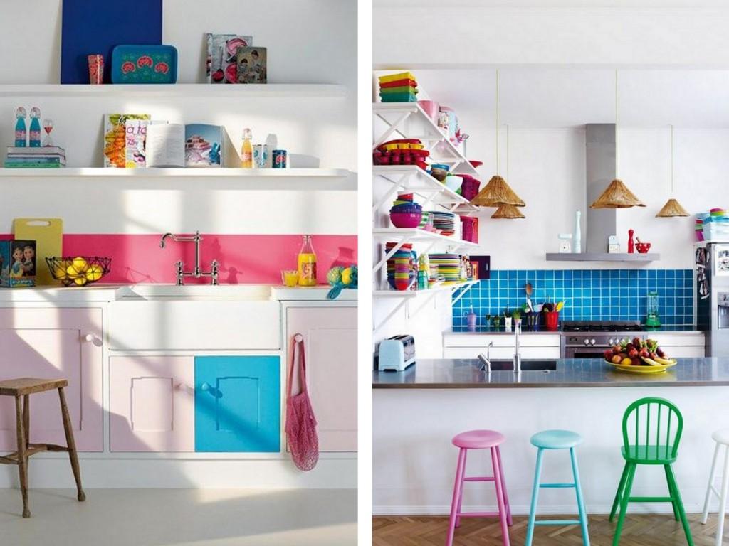 Le bon mix déco : rose, turquoise et indigo - Joli Place