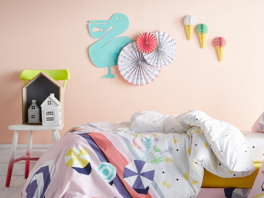 d co murale chambre enfant 8 id es originales joli place. Black Bedroom Furniture Sets. Home Design Ideas