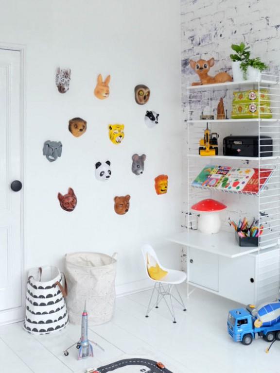 8 id es d co pour les murs des kids joli place for Idee deco murale chambre