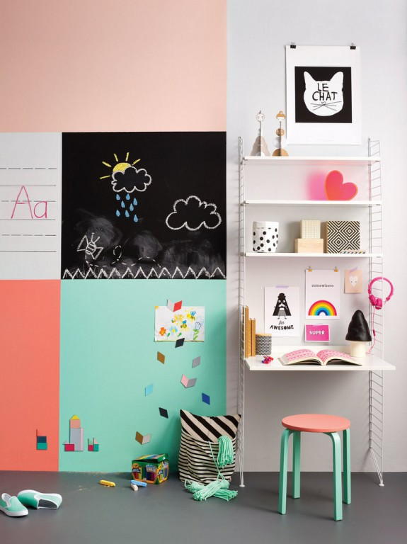 8 id es d co pour les murs des kids joli place - Cadre photo magnetique ikea ...
