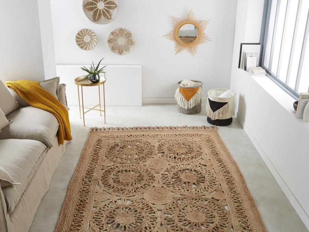 Le salon hippie chic brigitte bardot x la redoute joli place - La redoute tapis salon ...