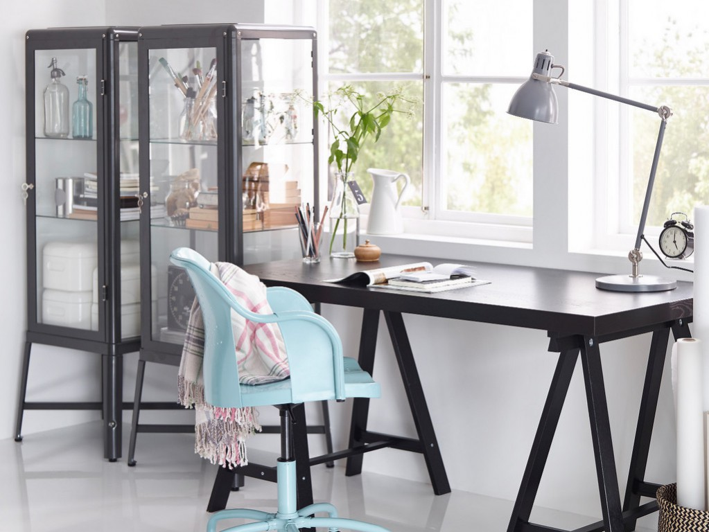 vitrine style industriel u uac u ikea meuble vitrine with ikea vaisselier. Black Bedroom Furniture Sets. Home Design Ideas