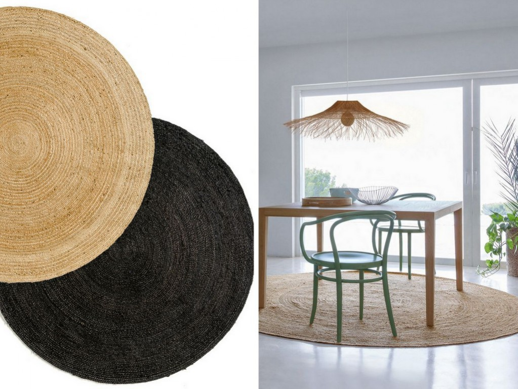 tapis en jute notre rep rage des mod les les plus cool joli place. Black Bedroom Furniture Sets. Home Design Ideas