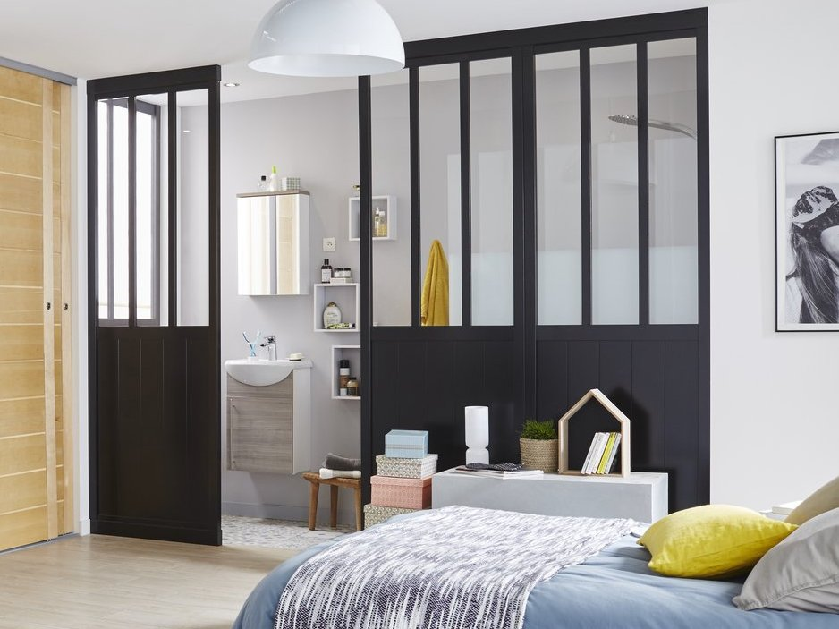 une solution facile pour diviser une pi ce joli place. Black Bedroom Furniture Sets. Home Design Ideas