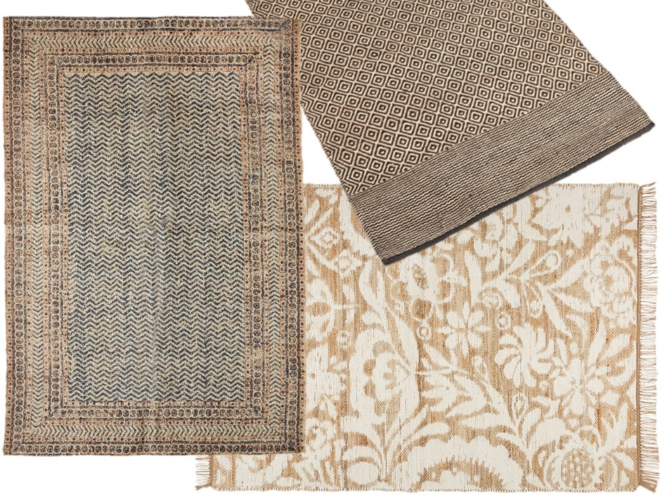 tapis en jute notre rep rage des mod les les plus cool. Black Bedroom Furniture Sets. Home Design Ideas