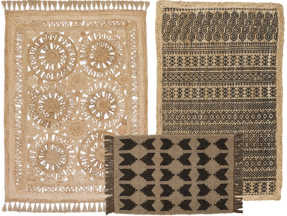 Tapis Naturel Jute Idees D Images A La Maison