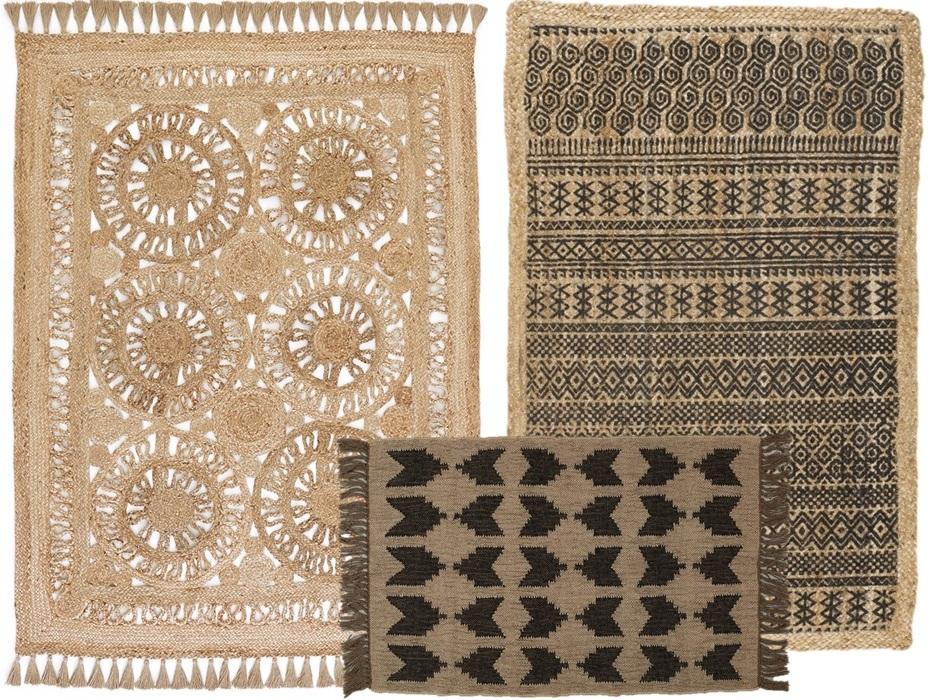 O trouver un tapis en jute joli place - Tapis en fibre naturelle ...