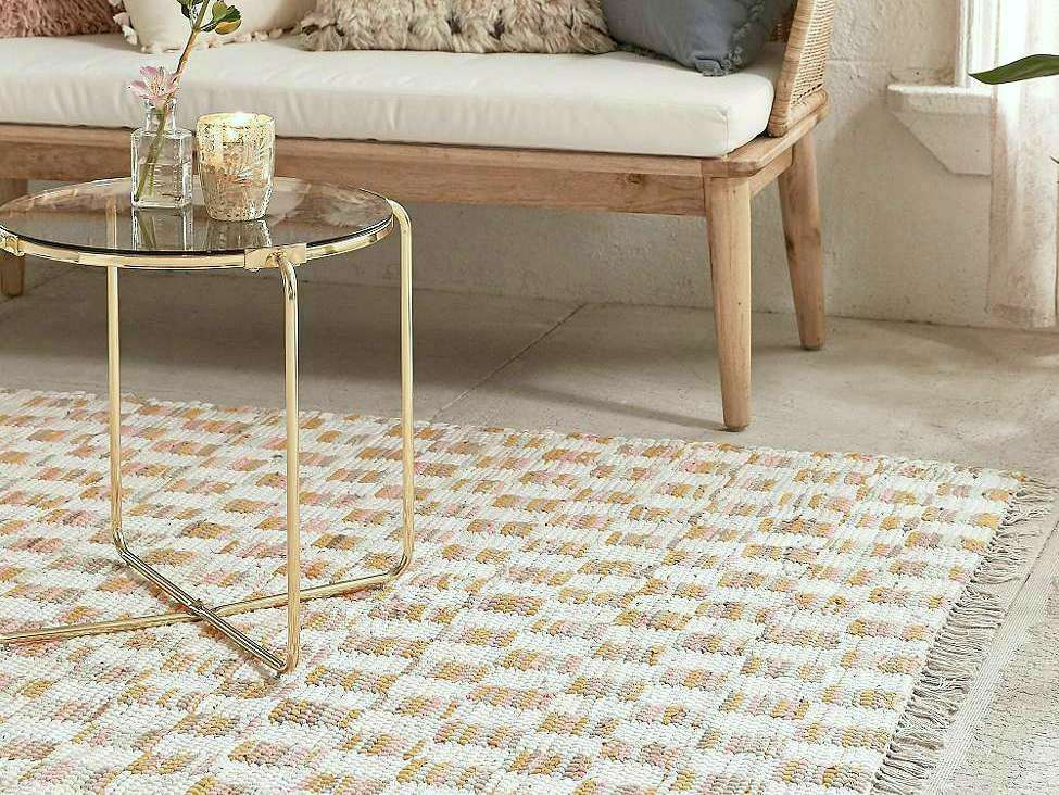 tapis déco style scandinave