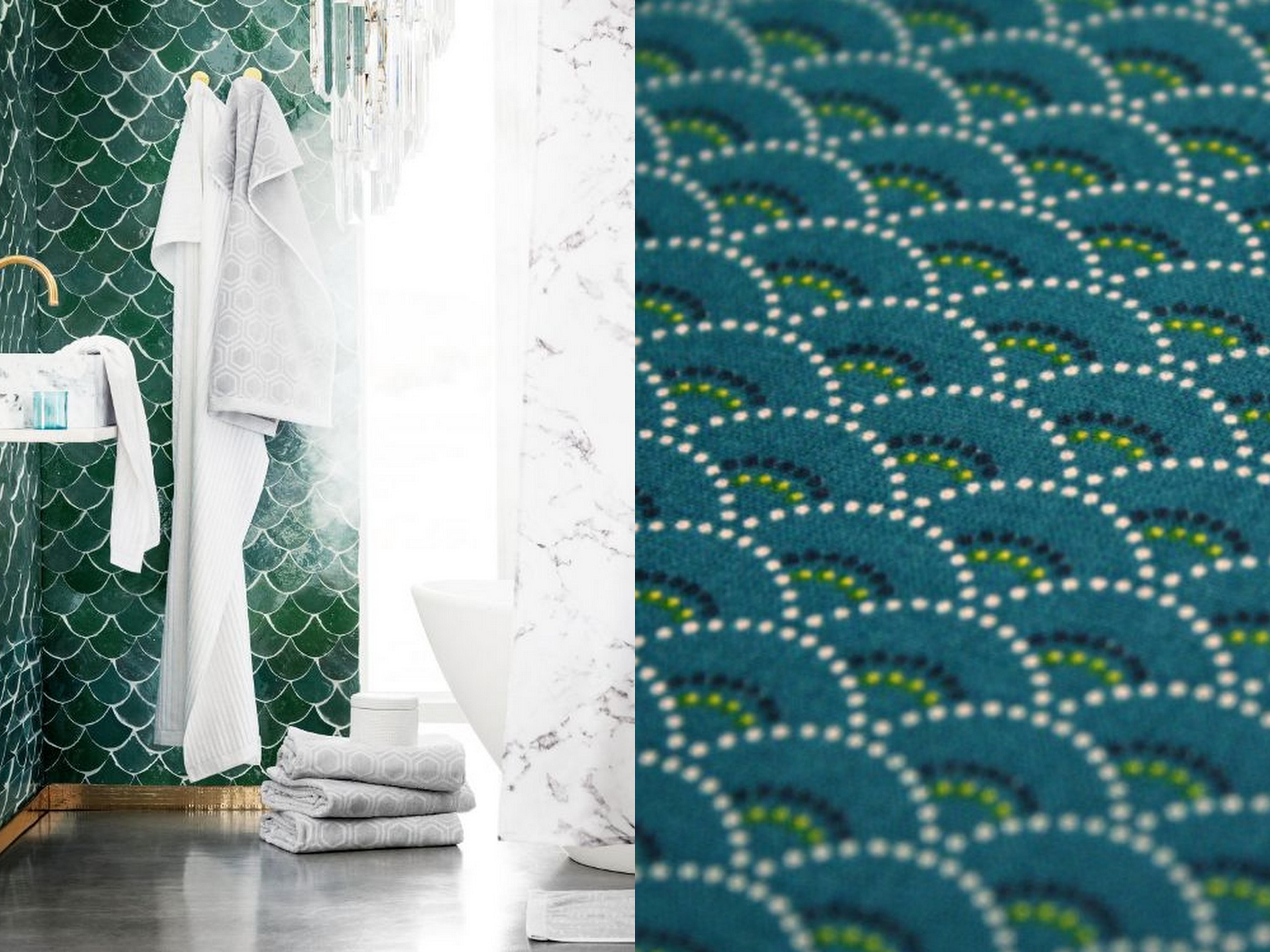 le motif seigaiha fait des vagues dans la d co joli place. Black Bedroom Furniture Sets. Home Design Ideas