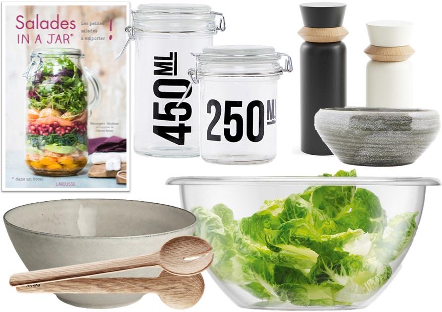 ustensiles cuisine salade