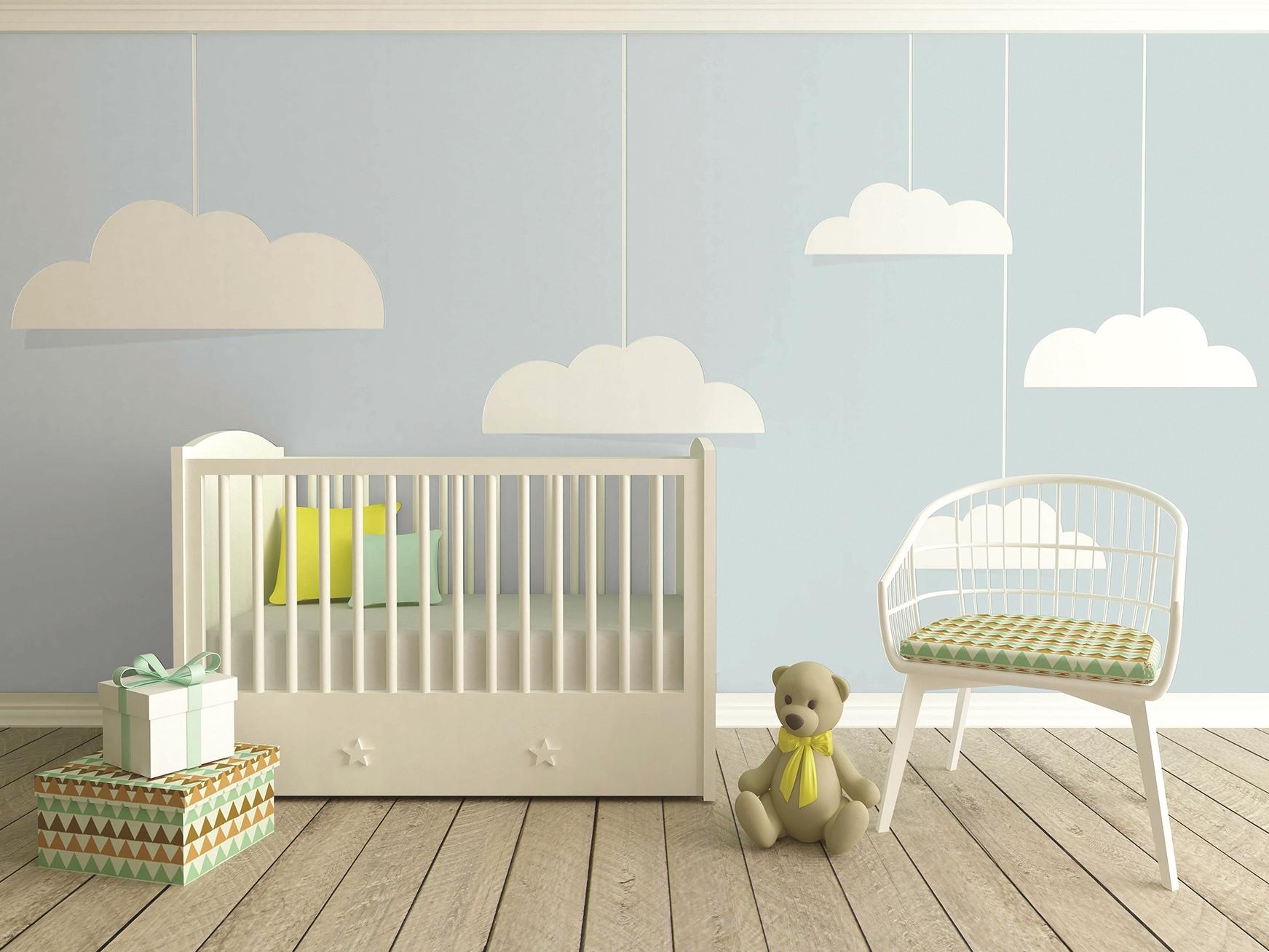 Une peinture spéciale pour chambre d\'enfants - Joli Place