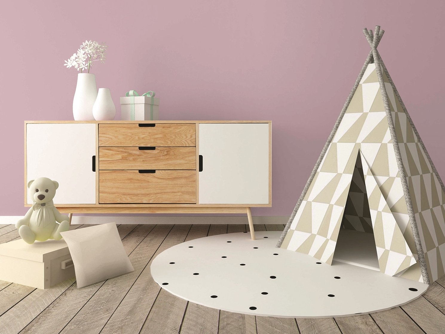 une peinture sp ciale pour chambre d 39 enfants joli place. Black Bedroom Furniture Sets. Home Design Ideas