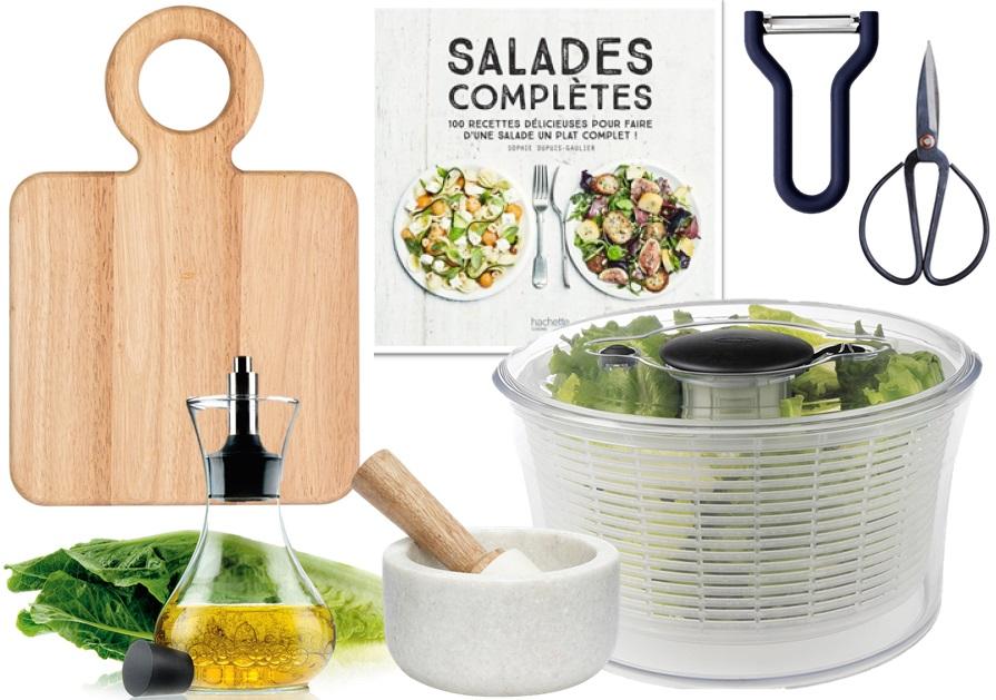 ustensiles cuisine salades