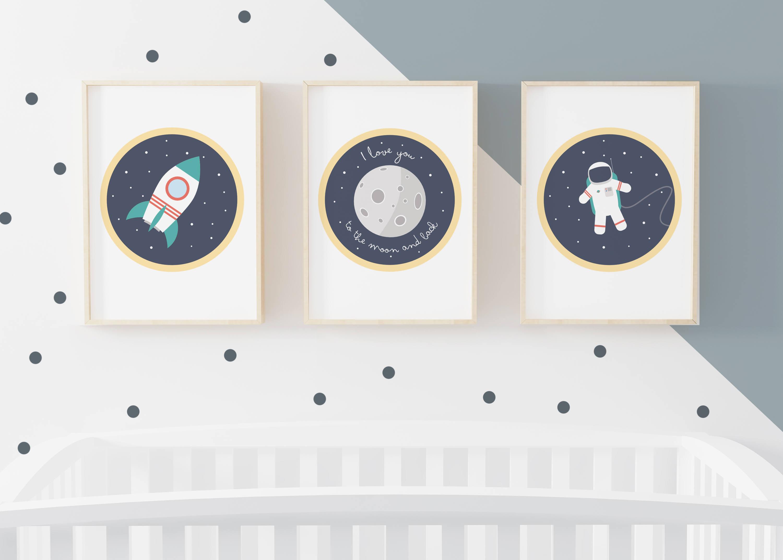 affiche chambre bébé