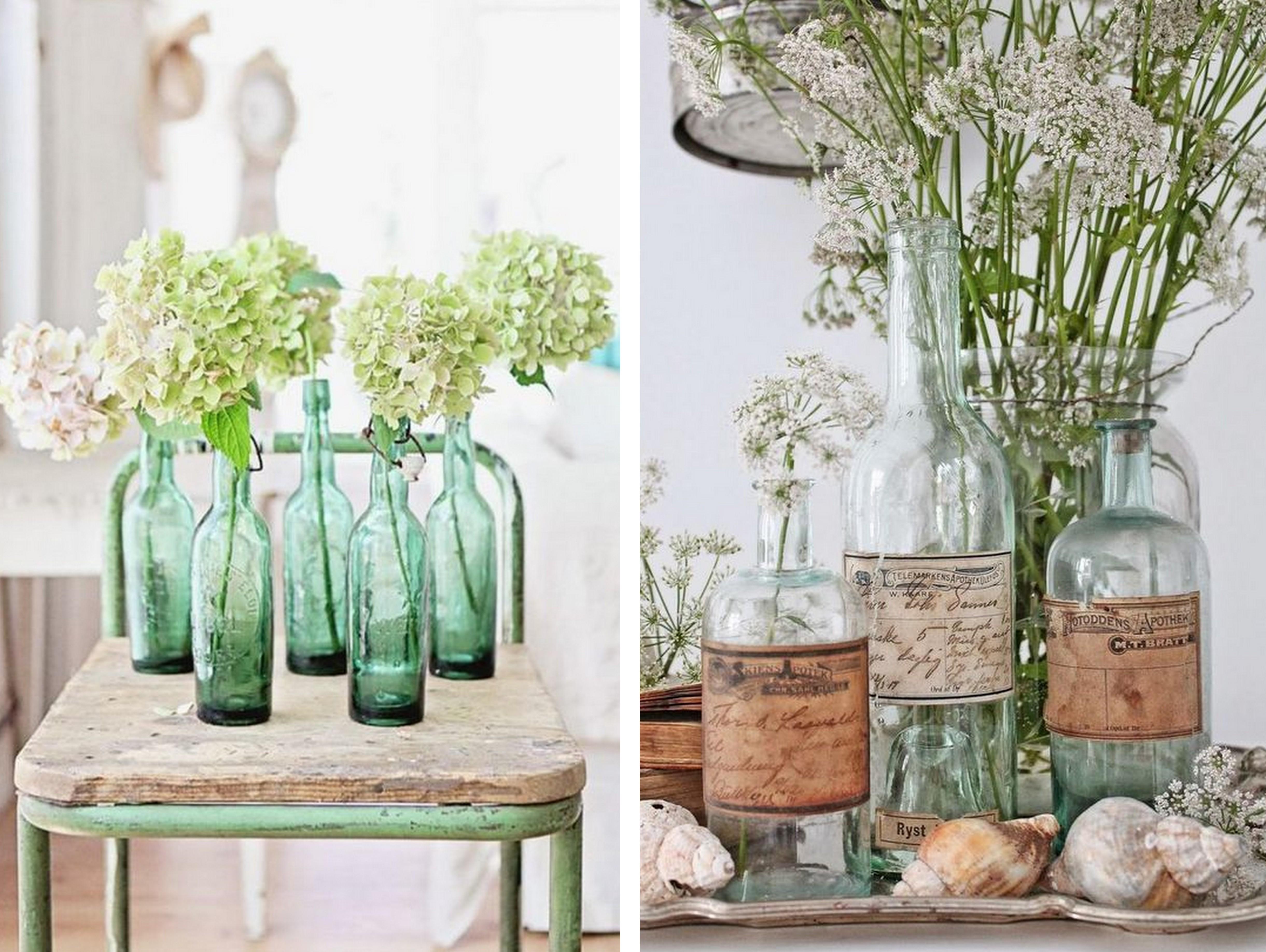 Bouteilles bocaux flacons recycl s en vases pour votre d co - Ikea bouteille en verre ...