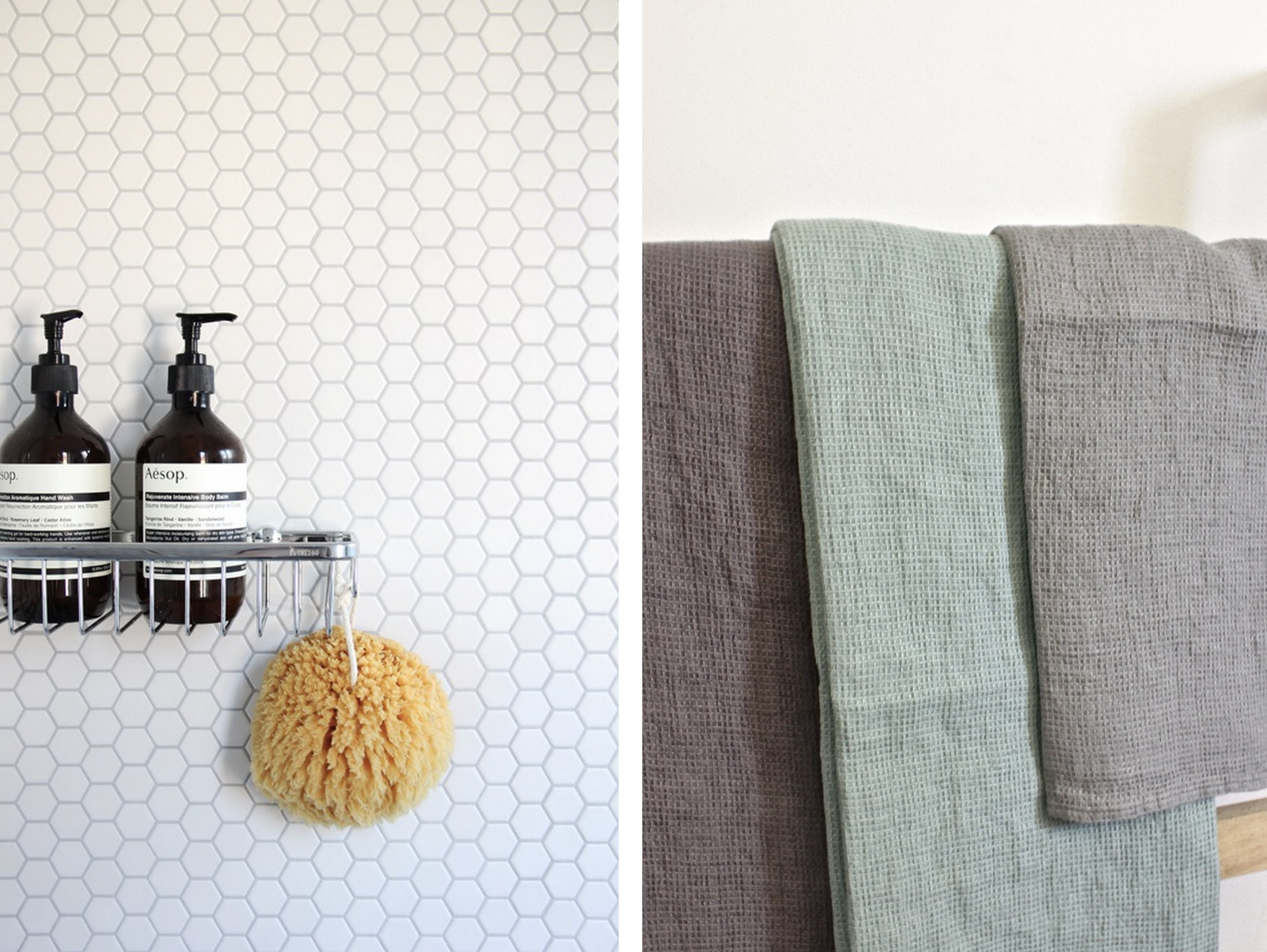 carrelage ou serviettes on veut du nid d 39 abeille dans la. Black Bedroom Furniture Sets. Home Design Ideas