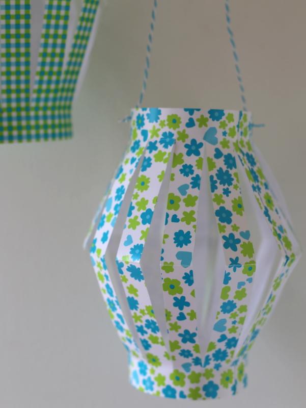 lanterne en papier