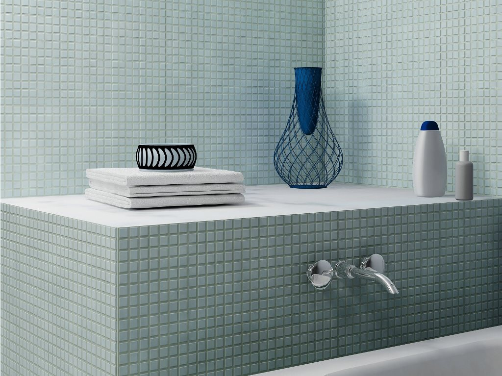 Idees Deco Douche Carrelage : Carrelage mosaïque dans la salle de bains idées et