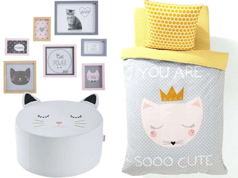 la d co chat dans une chambre d 39 enfant joli place. Black Bedroom Furniture Sets. Home Design Ideas