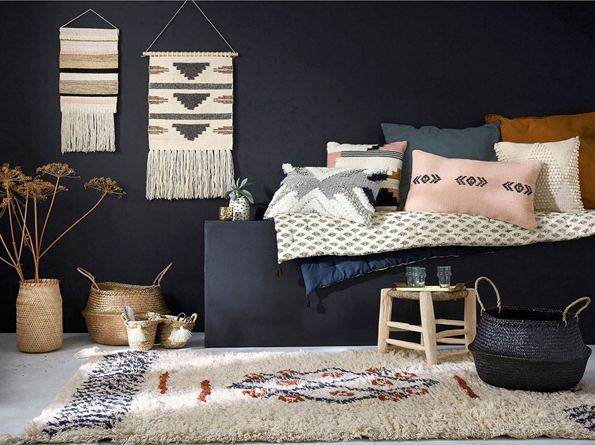 d co ethnique dans la chambre pour un esprit vasion chic joli place. Black Bedroom Furniture Sets. Home Design Ideas