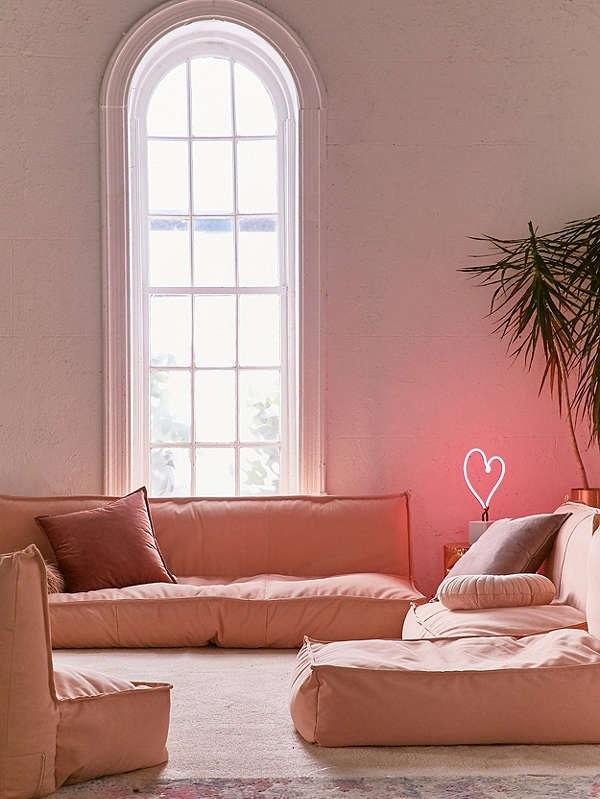 Le Rose Dans La Deco : La déco rose pêche donne bonne mine dans maison joli