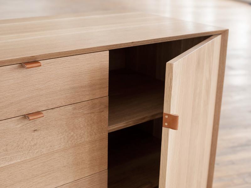 poign e en cuir pour meuble le d tail qui change tout joli place. Black Bedroom Furniture Sets. Home Design Ideas