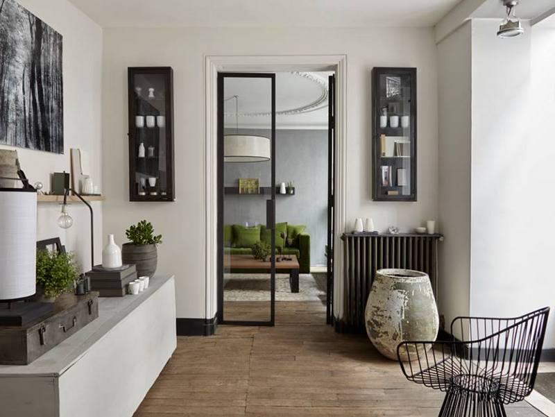 Installez une porte d 39 atelier dans votre entr e joli place for Porte style verriere atelier