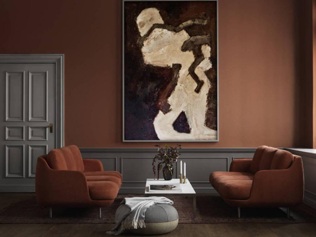 d co couleur terracotta et gris des id es piquer. Black Bedroom Furniture Sets. Home Design Ideas