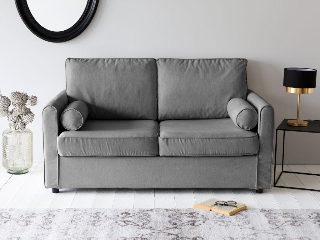 Petit canap des mod les qui ont de l 39 allure joli place for Petit canape gris