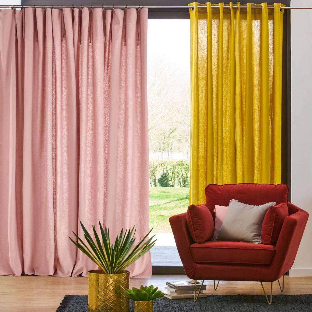 textiles d co en couleurs osez le m lange joli place. Black Bedroom Furniture Sets. Home Design Ideas