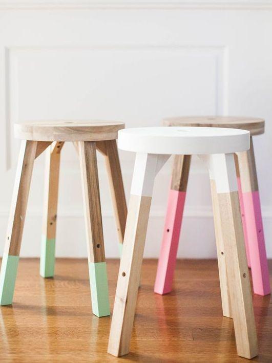 8 DIY à réaliser avec un pot testeur de peinture - Joli Place