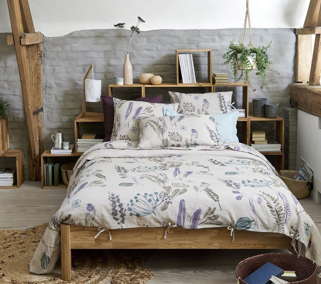 Country craft la d co style campagne modernis e joli place for Chambre style campagne chic