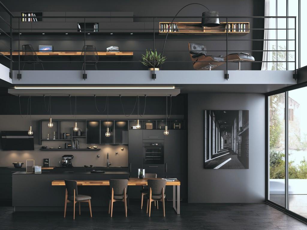 Cuisine noire comment adopter cette tendance joli place for Cuisine laquee noire reims