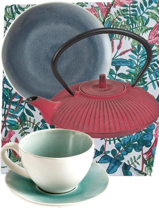 d co en vert bleu et rouge le bon mix joli place. Black Bedroom Furniture Sets. Home Design Ideas