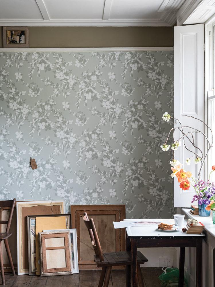 Papier peint fleuri faites entrer la nature dans la - La maison du papier peint ...