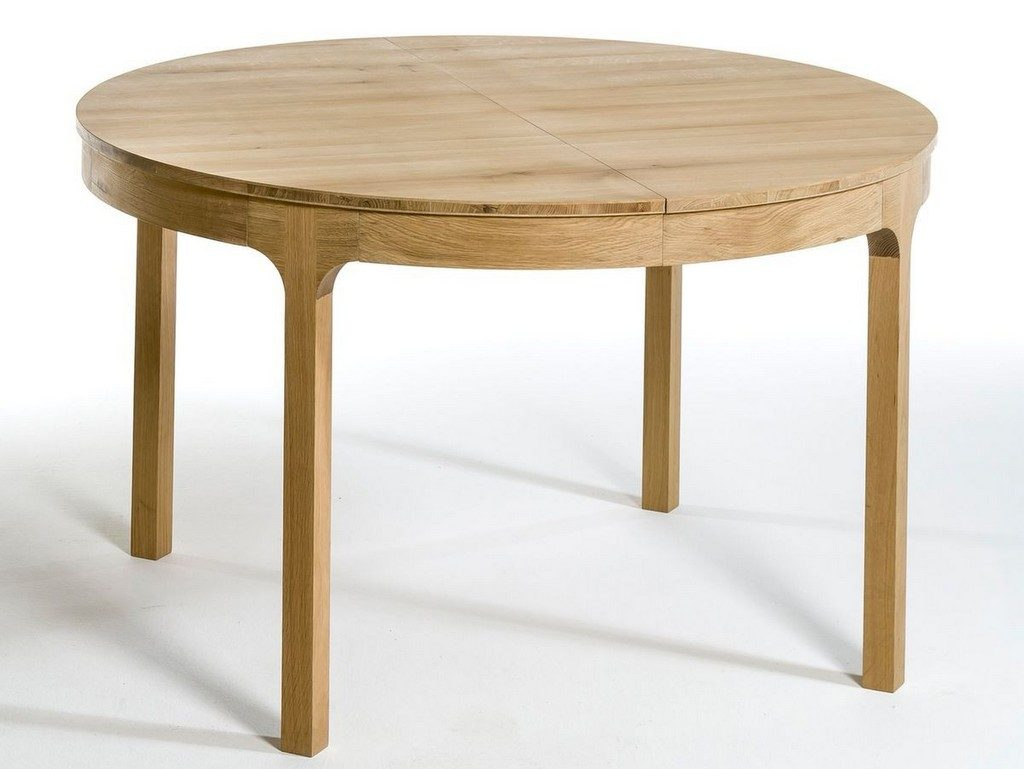 Table salle a manger ronde extensible maison design for Table salle a manger ronde blanche extensible