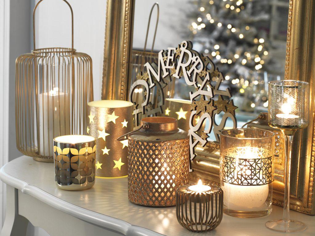 Inspirations pour une déco de Noël dorée - Joli Place