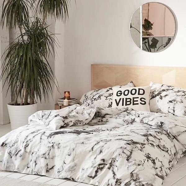 la d co en marbre version pop ou version chic joli place. Black Bedroom Furniture Sets. Home Design Ideas